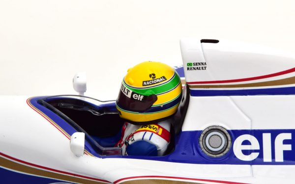 Williams Renault FW16 Brazilian GP 1994 Aryton Senna 1-18 Minichamps ( Rothmans Decals )