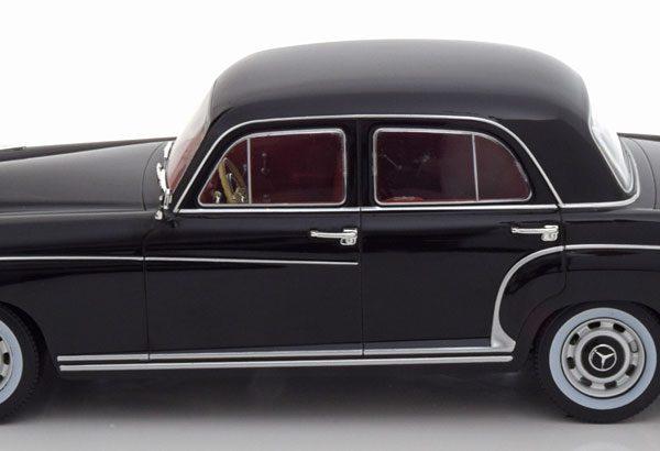 Mercedes-Benz 220S ( W180) Limousine 1956 Zwart 1-18 KK Scale Limited 1250 Pieces