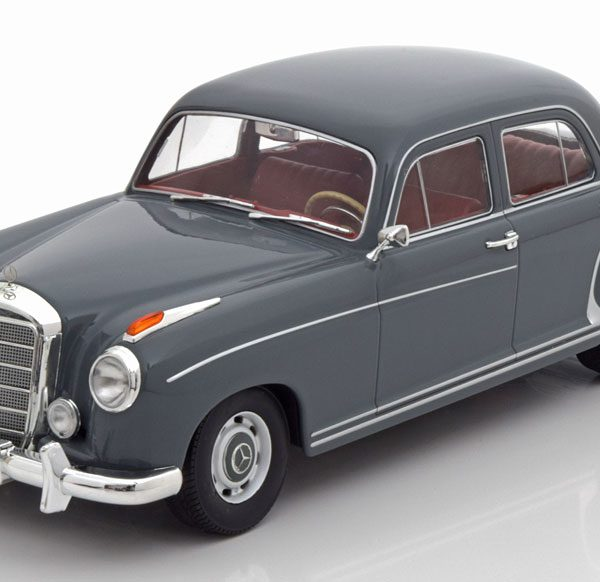 Mercedes-Benz 220S ( W180 )Limousine 1956 Grijs 1-18 KK Scale Limited 500 Pieces