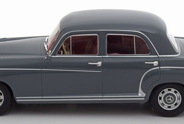 Mercedes-Benz 220S ( W180 )Limousine 1956 Grijs 1-18 KK Scale Limited 500 Pieces