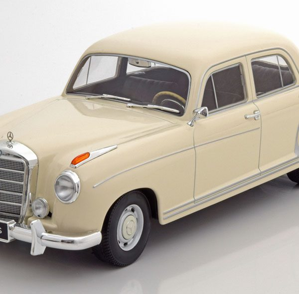 Mercedes-Benz 220S ( W180 )Limousine 1956 Beige 1-18 KK Scale Limited 500 Pieces