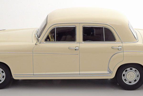 Mercedes-Benz 220S ( W180 )Limousine 1956 Beige 1-18 KK Scale Limited 500 Pieces
