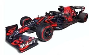 Aston Martin Red Bull Racing RB15 Test Session Silverstone 2019 Max Verstappen Spark 1-43