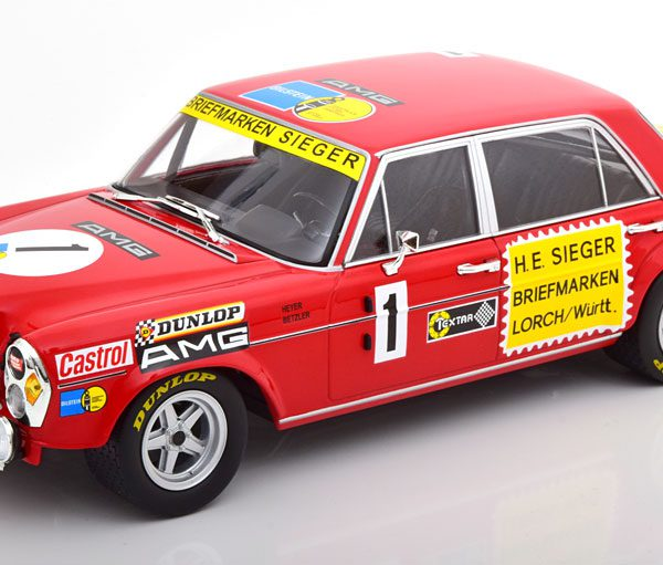 Mercedes-Benz 300 SEL 6.8 No.1, 24h Nürburgring 1972 Heyer/Betzler 1-18 Minichamps Limited 600 Pieces