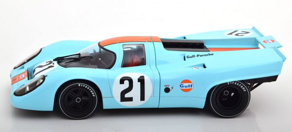 """Porsche 917K No.21, 24h Le Mans 1970 """"Gulf """" Rodriguez/Kinnunen 1-18 CMR Models"""