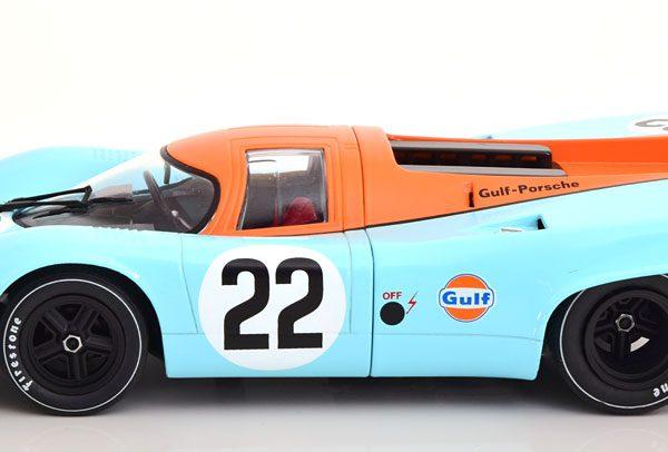 "Porsche 917K No.22, 24h Le Mans 1970 ""Gulf ""Hobbs/Hailwood 1-18 CMR Models"