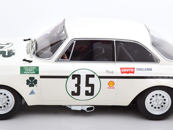 Alfa Romeo GTA 1300 Junior No.35, Jarama 1972 Colzani/Pooky/Venturi 1-18 Minichamps Limited 300 Pieces