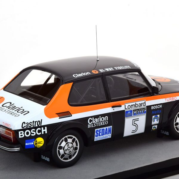 Saab 99 Turbo No.5, Rally Costa Smeralda 1980 Blomqvist/Cederberg 1-18 Tecnomodels Limited 80 Pieces