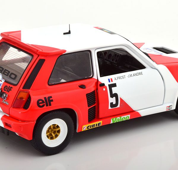 "Renault 5 Turbo No.5, Rally du Var 1982 ""Marlboro ""Prost/Andrie 1-18 Solido"