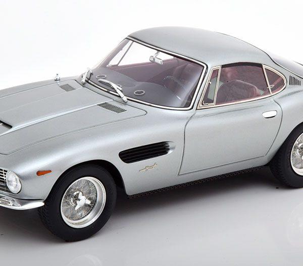 Ferrari 250GT Berlinetta Passo Corto Lusso Bertone 1962 Grijs Metallic 1:18 Matrix Scale Models