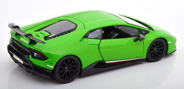 Lamborghini Huracan Performante 2017 Groen Metallic 1-18 Maisto