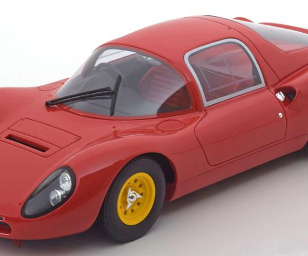 Ferrari Dino 206 S Plain Body Version 1966 Rood 1-18 CMR Models