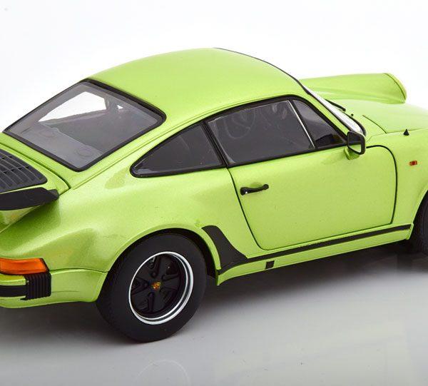 Porsche 911 Turbo 3.3 1978 Groen Metallic 1-18 Norev