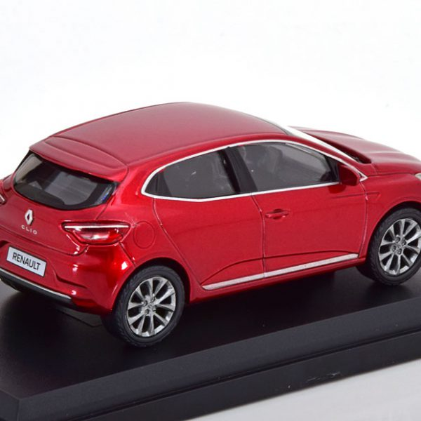 Renault Clio 2019 Rood Metallic 1-43 Norev