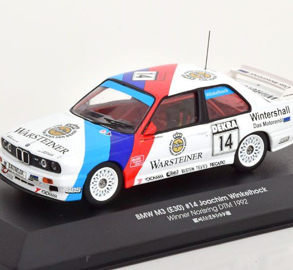 "BMW M3 E30 Winner Norisring, DTM 1992 ""Warsteiner"" Winkelhock 1-43 CMR Models"
