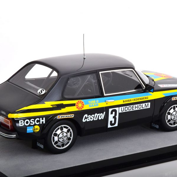 Saab 99 Turbo Winner Rally Zweden 1979 Blomqvist/Cederberg 1-18 Tecnomodels Limited 100 Pieces
