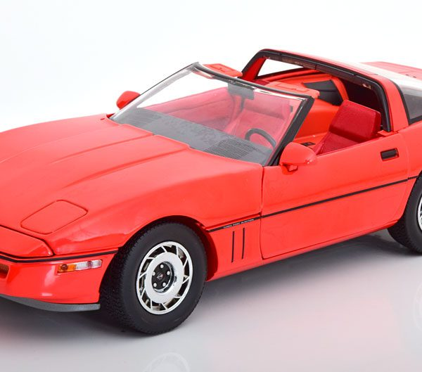 "Chevrolet Corvette C4 ""The Big Lebowski"" 1985 Larry Sellers Rood 1-18 Greenlight Collectibles"