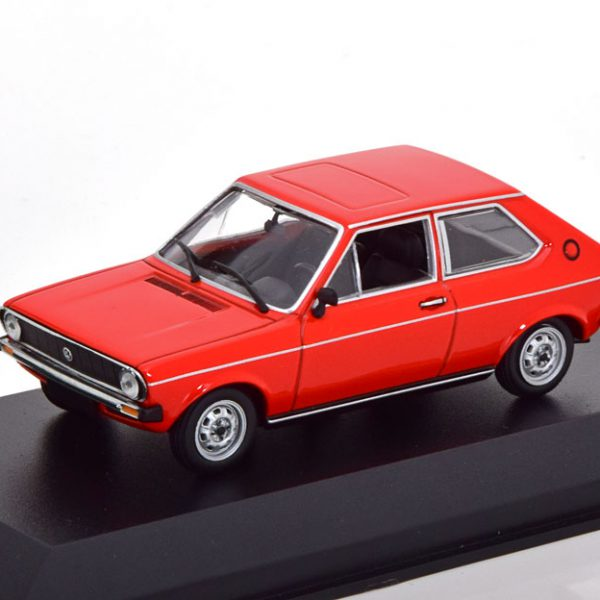 Volkswagen Polo MK1 1979 Rood 1-43 Maxichamps