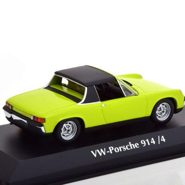 VW-Porsche 914/4 1972 Helgroen1-43 Maxichamps