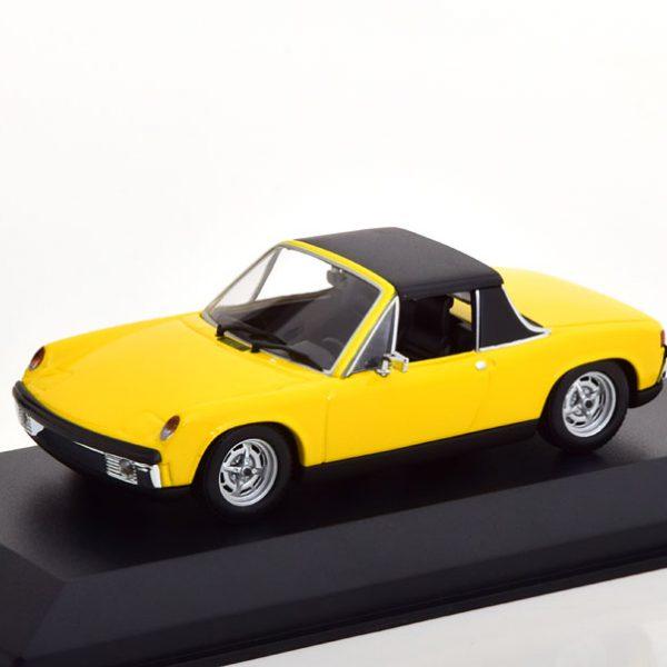 VW-Porsche 914/4 1972 Geel 1-43 Maxichamps