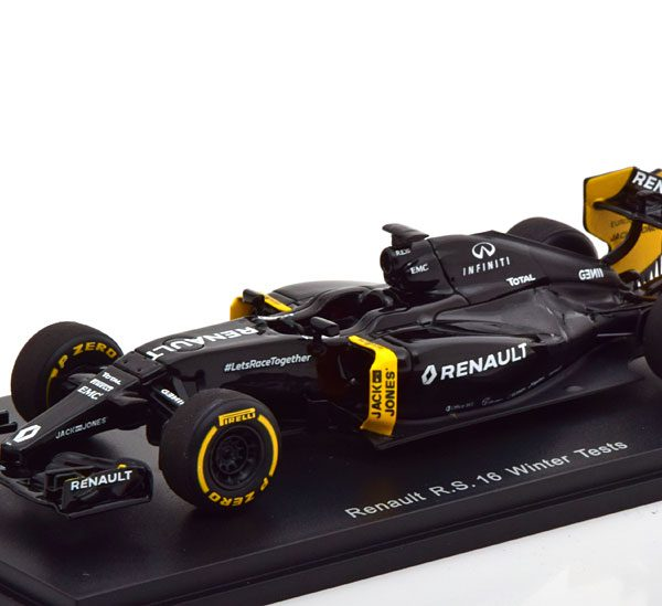 Renault R.S.16 Winter Tests 2016 Spark 1-43 ( Resin )