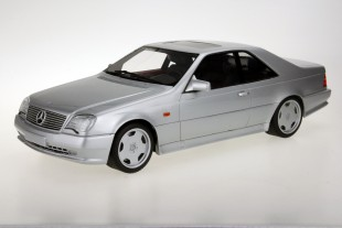 Mercedes-Benz AMG CL600 7.0 Coupe Zilver 1-18 LS Collectibles Limited 250 Pieces