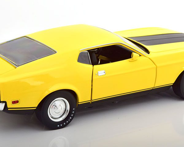 "Ford Mustang Mach 1 Eleanor 1973 ""Gone in 60 Seconds "" Geel 1-18 Greenlight Collectibles"