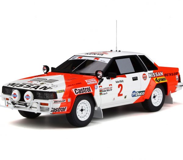 Nissan 240 RS Safari Rally 1984 Wit / Rood 1-18 Ottomobile Limited 1500 Pieces