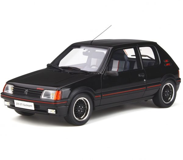 Peugeot 205 GTI Gutmann 1988 Zwart 1-18 Ottomobile Limited 1500 Pieces