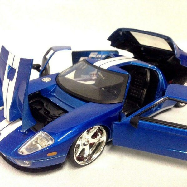 """Ford GT Blauw """"Fast and the Furious """"1-24 Jada Toys"""