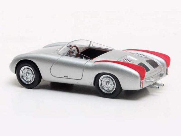 Porsche 356 Zagato Spider Zilver metallic/Rood 1-43 Matrix Scale Models