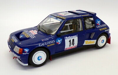 Peugeot 205 T16 #14 Rallye Tour de Corse 1985 Darniche, Mahe 1:18 Triple 9 Collection