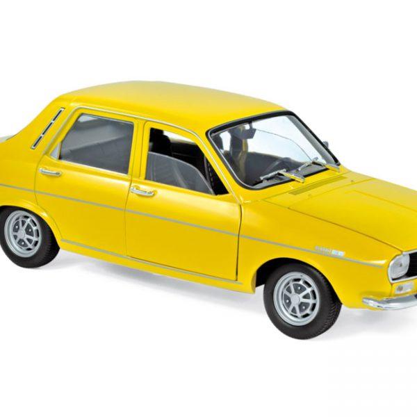 Renault 12 TS 1973 Geel 1-18 Norev