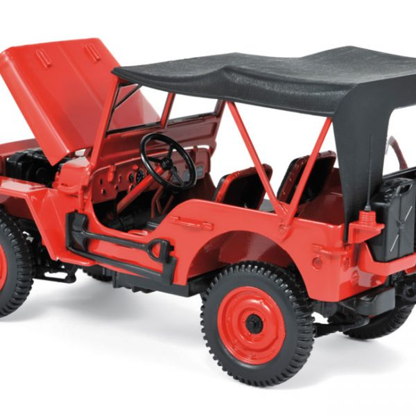 Jeep 1942 Rood Norev 1:18