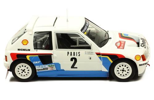Peugeot 205 T16 #2 Rally Monte Carlo 1985 Vatanen/Harryman 1:18 Ixo Models