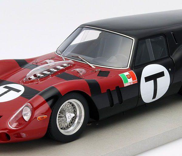 Ferrari 250 GT Breadvan 1962 24h di Le Mans Test #T 1:18 Rood met zwart Tecnomodels Limited 130 pcs.