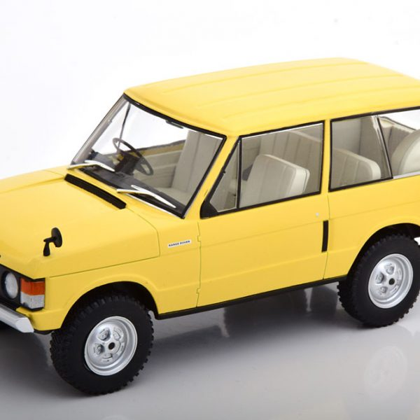 Range Rover 3.5 V8 1972 Beige 1-24 Whitebox
