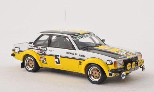 Opel Ascona B Gr.2 #5 Rallye d'Antibes 1980 Jean-Louis Clarr 1:43 Neo Scale Models