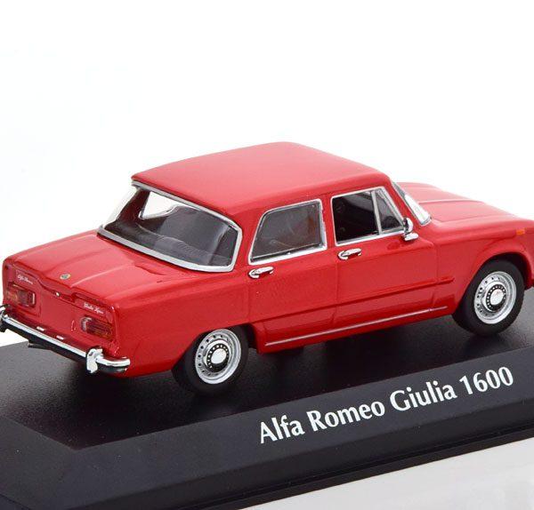 Alfa Romeo Giulia 1600 1970 Rood 1-43 Maxichamps
