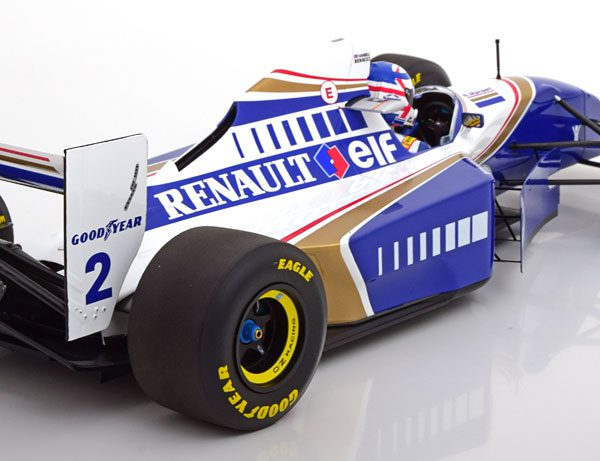"Williams Renault FW16 Nigel Mansell ""F1 Return"" French GP 1994 1-12 Minichamps Limited 100 Pieces"