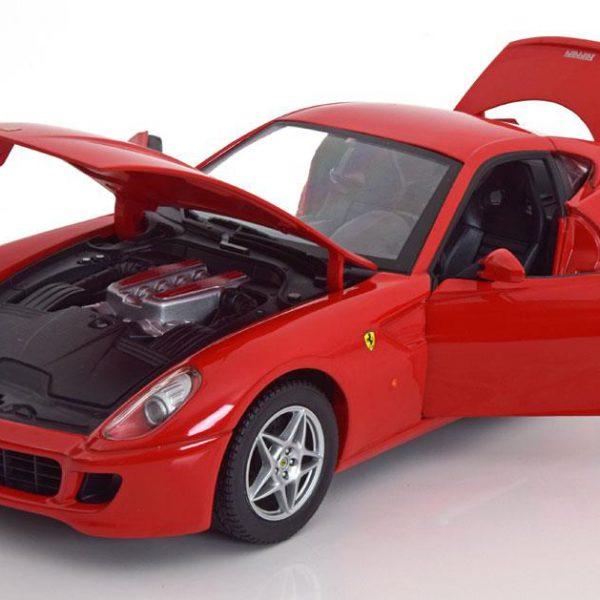 Ferrari 599 GTB Fiorano 2006 1:18 Rood Hotwheels