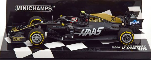 Haas F1 VF-19 Rich Energy 2019 K.Magnussen 1-43 Minichamps ( Resin )