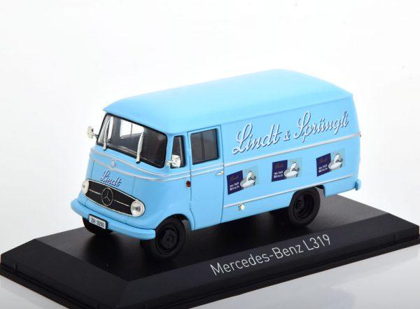 """Mercedes-Benz L319 Kastenwagen 1957 """"Lindt&Sprüngli""""1-43 Norev"""
