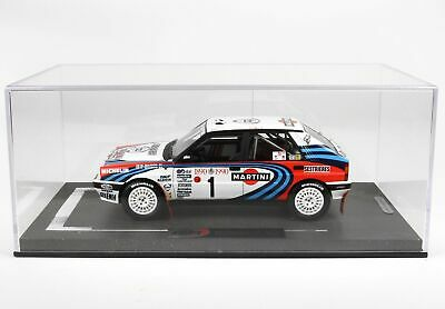 "Lancia Delta Integrale HF 16V Nr# 1 Monte Carlo Rally 1990 ""Martini "" Biasion/Siviero 1-18 BBR Models Limited 100 Pieces"