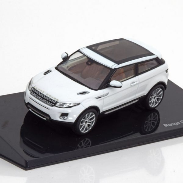 Land Rover Evoque 3-doors Wit 1-43 Ixo Models