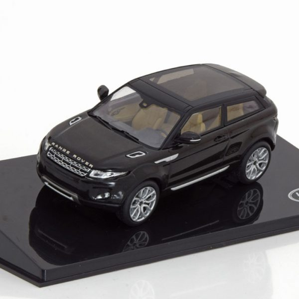 Land Rover Evoque 3-doors Zwart 1-43 Ixo Models