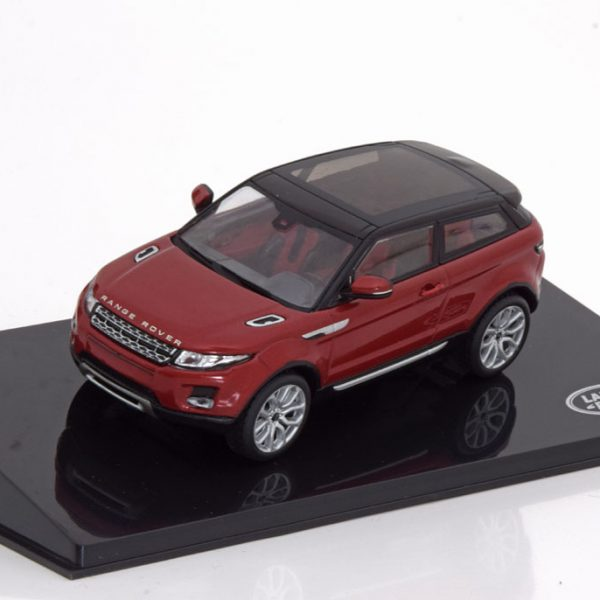 Land Rover Evoque 3-doors Rood 1-43 Ixo Models