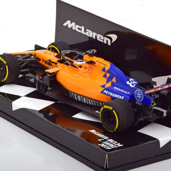 Mc Laren MCL34 2019 C. Sainz Jr 1-43 Minichamps ( Resin )