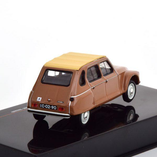 Citroen Dyane 6 Nazaré 1982 Bruin 1-43 Ixo Models