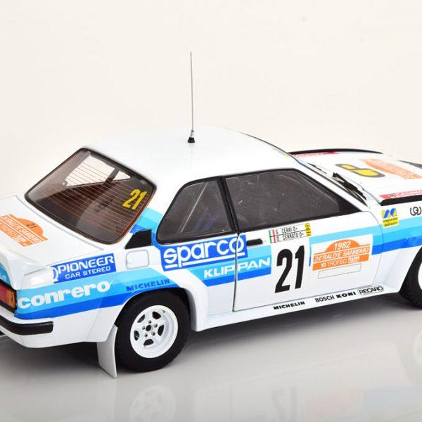 Opel Ascona 400 No.21, Rally Sanremo 1982 Cerrato/Cerri 1-18 Sun Star